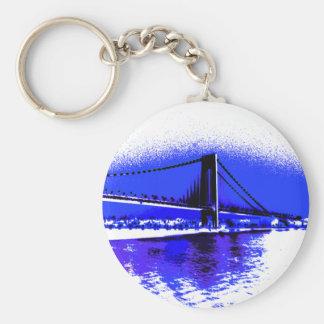 Verrazano Violet Bridge keychain