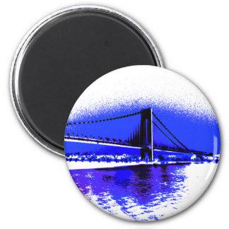 Verrazano Violet Bridge magnet