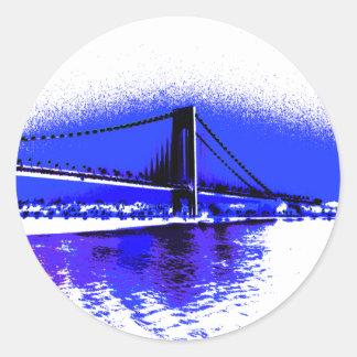 Verrazano Violet Bridge sticker