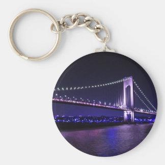 Verrazano Violets keychain