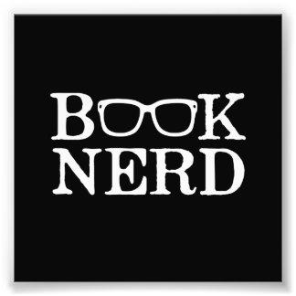 Verres ringards nerd de livre photo sur toile