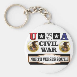 Vers du nord de guerre civile des Etats-Unis du Porte-clé Rond