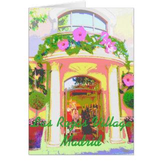 Versace in Rozas Village of Madrid lies down Card