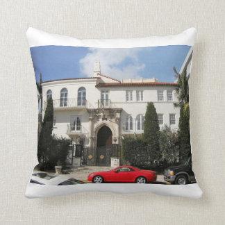 Versace Mansion Throw Pillow
