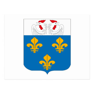 Versaille Coat of Arms Postcard