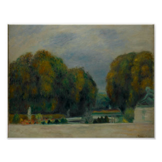 Versailles, Auguste Renoir Poster