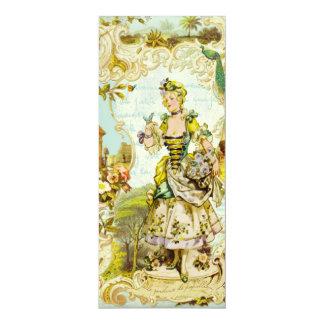 Versailles Butterfly Garden Tea Length Invitations