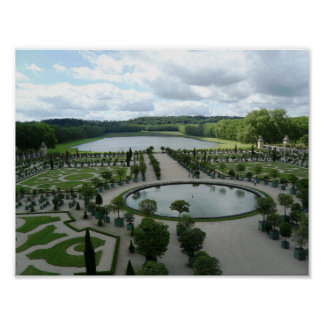 Versailles Garden Orangerie Photo Poster France