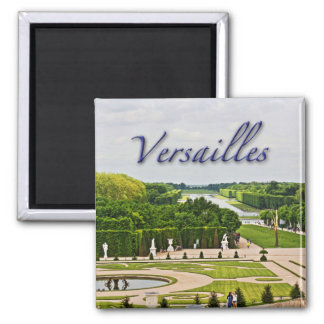 Versailles Palace Gardens Square Magnet