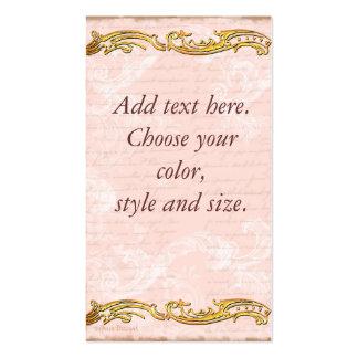 Versailles Pink Business Card