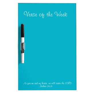 Verse of the Week Dry Erase Board
