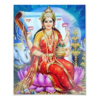 """Version 1 de l'impression de Lakshmi (8"""" x 10"""") - Impression Photo"""