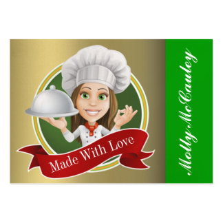 Version #2 Kitchen Card - See Back - SRF Large Business Card