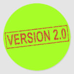 Version 2 - New Improved! Round Stickers