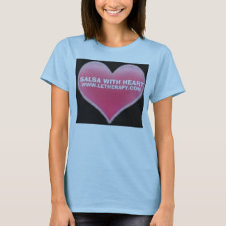 Version 2 SALSA WITH HEART T-SHIRT