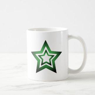 Vert de D-Étoile Mugs