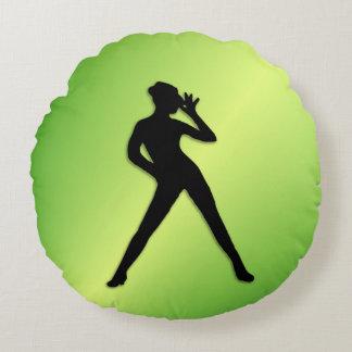 Vert de danse moderne coussins ronds