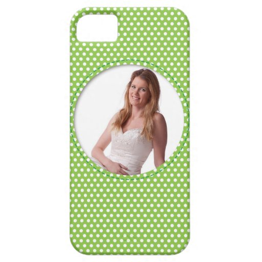 Vert de vue de Polkadot Coques iPhone 5 Case-Mate