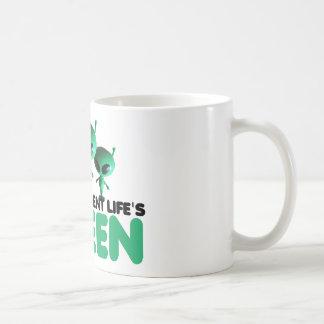 Vert humoristique mugs