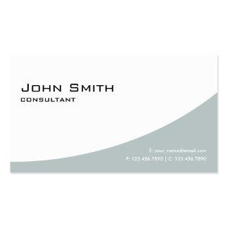 Vert simple simple moderne élégant professionnel carte de visite standard