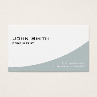 Vert simple simple moderne élégant professionnel cartes de visite
