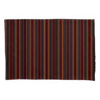 Vert/Stripes Browns Blue Pillowcase Set