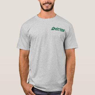 """""""Vert sur"""" le T-shirt gris"""