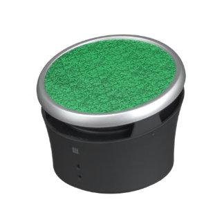 Vert vert de feuille florale vintage de dentelle haut-parleur bluetooth