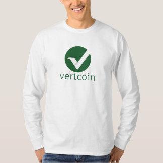 Vertcoin (VTC) long sleeve t-shirt