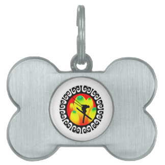 Vertical Air Pet ID Tag