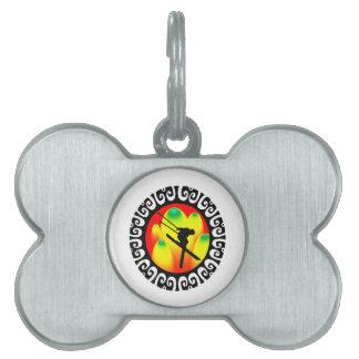 Vertical Air Pet ID Tag