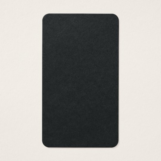 Vertical Artistic Premium Black Unique Design Business Card