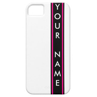 Vertical Bar Customized iPhone 5 Cover