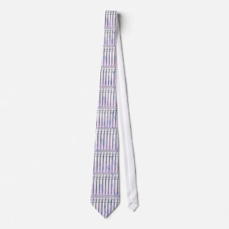 Vertical Blinds Tie In Muted Shades of Lavender