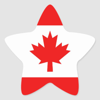 Vertical Canadian Flag Stickers