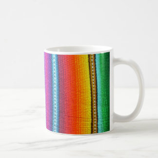 Vertical Guatemalan Fabric stripes Coffee Mug
