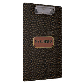 Vertical Horizontal Lines My Business Clipboard