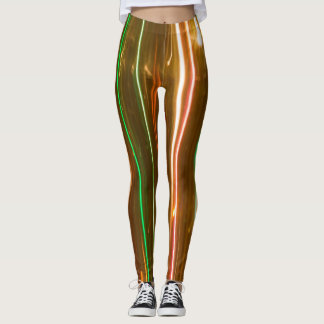 Vertical lights leggins leggings
