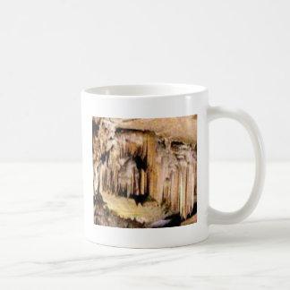 vertical lines in rocks coffee mug