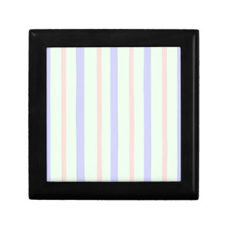 Vertical Pastel Stripes Gift Box