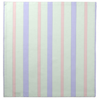Vertical Pastel Stripes Napkin