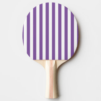 Vertical Purple Stripes Ping Pong Paddle