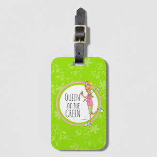 Vertical-Queen of the Green Bag Tag