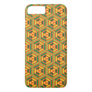 Vertical seamless geometric pattern iPhone 7 plus case