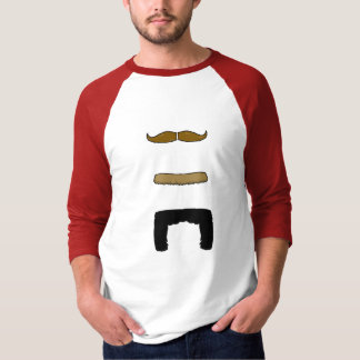 Vertical 'Stache! T-Shirt