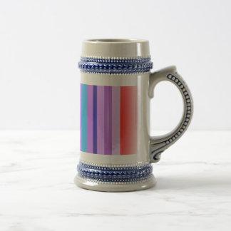Vertical Stripes Art Lavender Haze Coffee Mug