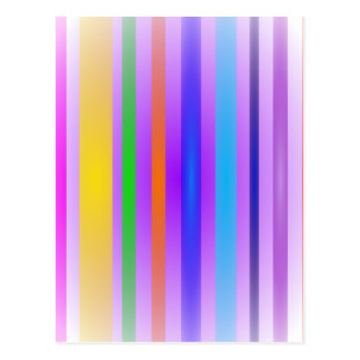 Vertical Stripes Art Lavender Haze Postcard