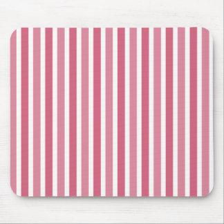 Vertical Stripes Mousepad, Pink