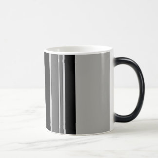 Vertical stripes pattern mug