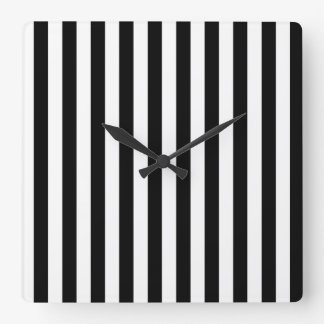 Vertical Time Square Wall Clock